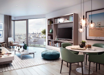 Thumbnail 2 bed flat for sale in Royal Wharf - London, London