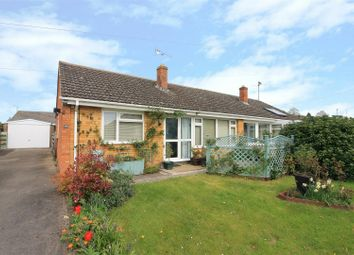 Thumbnail 2 bedroom semi-detached bungalow for sale in Poplar Road, Hereford