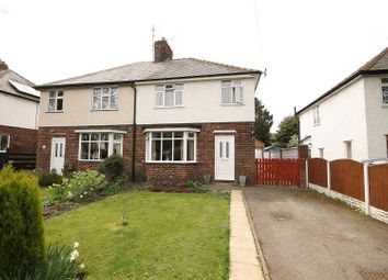 Thumbnail 3 bed semi-detached house for sale in Mansfield Road, Hasland, Chesterfield