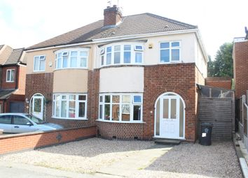 Thumbnail 3 bed semi-detached house for sale in Wigley Road, Off Scraptoft Lane, Leicester