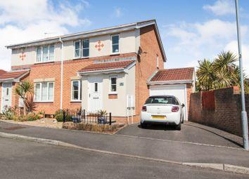 Thumbnail 3 bed semi-detached house for sale in Ffordd Gwynedd, Barry
