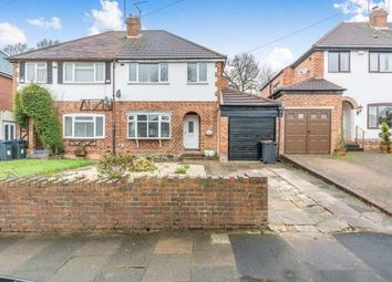 Thumbnail 3 bed semi-detached house for sale in Westridge Road, Kings Heath, Birmingham, West Midlands