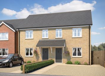 Thumbnail 3 bedroom semi-detached house for sale in Gilbert Row, West End, March