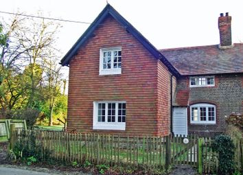 Thumbnail 3 bed semi-detached house to rent in New Cottages, The Street, Thakeham