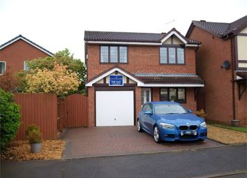 Thumbnail 3 bed detached house for sale in Newman Drive, Branston, Burton-On-Trent, Staffordshire