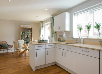 "Thumbnail 4 bed detached house for sale in ""The Chedworth Corner"" at Frenze Hall Lane, Diss"