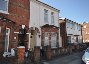 Thumbnail 3 bed end terrace house to rent in Clive Road, Portsmouth