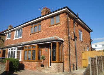 Thumbnail 3 bed semi-detached house for sale in Pegwell Avenue, Ramsgate