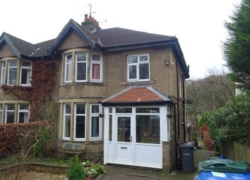 Thumbnail 3 bed semi-detached house for sale in Redburn Drive, Shipley, West Yorkshire