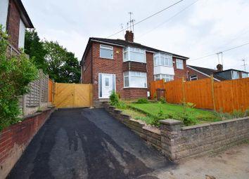 Thumbnail 3 bedroom semi-detached house for sale in Werrington Road, Bucknall, Stoke-On-Trent