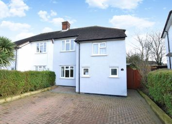 Thumbnail 3 bedroom semi-detached house for sale in Houlder Crescent, Waddon, Croydon
