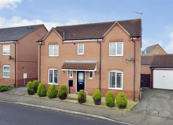 Thumbnail 4 bed detached house for sale in Dunnock Road, Oakley Vale, Corby, Northamptonshire