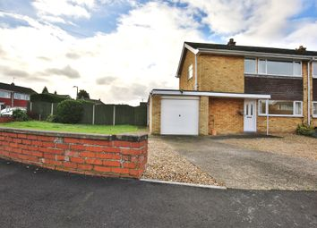 Thumbnail 3 bed semi-detached house for sale in Westerdale Road, Grantham