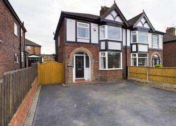 Leek New Road, Baddeley Green, Stoke-On-Trent ST2. 3 bed semi-detached house for sale