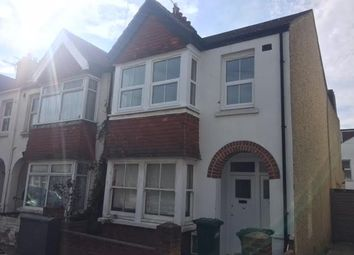 Thumbnail 2 bed flat to rent in St Leonard's Avenue, Hove