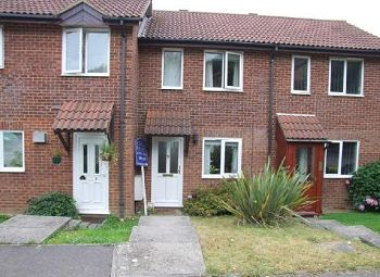 Thumbnail 1 bed terraced house to rent in Otford Close, Tollgate Hill, Crawley