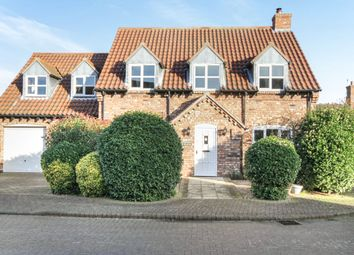 Thumbnail 4 bed detached house for sale in Eyres Lane, North Scarle, Lincoln