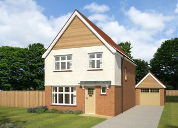 "Thumbnail 3 bedroom detached house for sale in ""Warwick"" at Littledown, Shaftesbury"