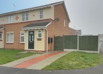 Thumbnail 3 bed semi-detached house to rent in Hughes Drive, Crewe, Cheshire