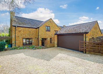 Thumbnail 4 bed detached house for sale in The Mead, Mollington, Banbury