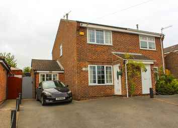 Thumbnail 3 bed semi-detached house for sale in Brunell Avenue, Newthorpe