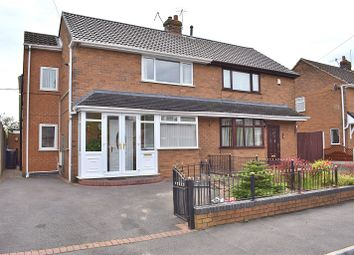 Thumbnail 3 bed semi-detached house for sale in Field Avenue, Baddeley Green, Stoke On Trent
