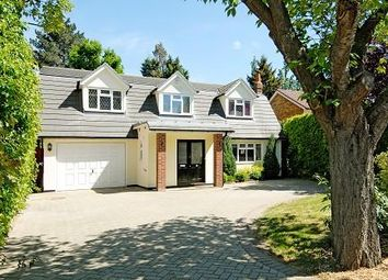 Thumbnail 4 bedroom detached house to rent in Englefield Green, Surrey