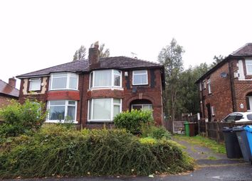 Thumbnail 3 bed semi-detached house for sale in Strain Avenue, Blackley, Manchester