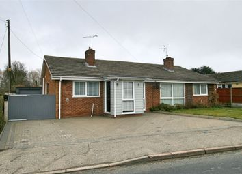 Thumbnail 2 bed semi-detached bungalow for sale in Brook Road, Tolleshunt Knights, Maldon, Essex