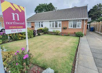 Thumbnail 2 bed bungalow for sale in Laburnum Avenue, Woolston, Warrington
