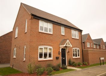 "Thumbnail 3 bedroom detached house for sale in ""The Clayton"" at Ward Road, Clipstone Village, Mansfield"