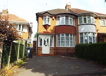Thumbnail 3 bedroom semi-detached house for sale in Bryn Arden Road, Yardley, Birmingham