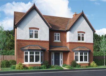"Thumbnail 4 bedroom detached house for sale in ""Aston"" at Burton Road, Streethay, Lichfield"