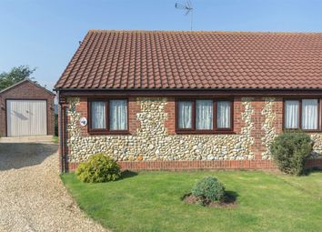 Thumbnail 2 bed semi-detached bungalow for sale in Heath Rise, Syderstone, King's Lynn