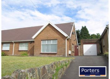 Thumbnail 2 bed semi-detached bungalow to rent in Bridgend Road, Bryncethin, Bridgend