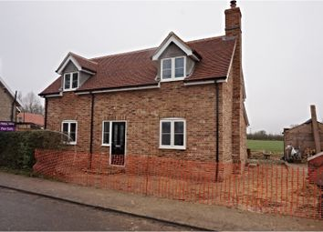 Thumbnail 3 bedroom detached house for sale in The Street, Brettenham