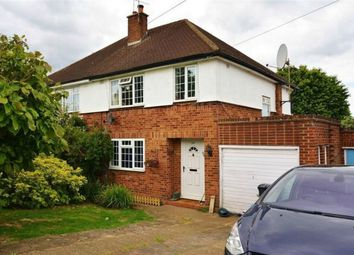 Thumbnail 3 bed semi-detached house to rent in Mead Way, Bushey, Hertfordshire