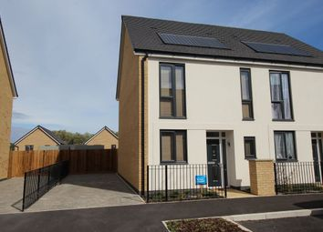 Thumbnail 2 bed semi-detached house for sale in Mottershead Avenue, Locking Parklands, Weston-Super-Mare