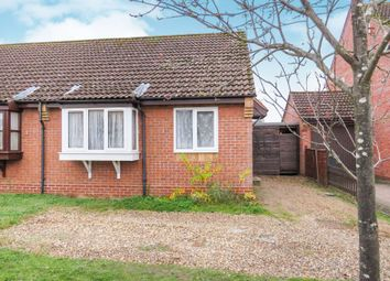 Thumbnail 2 bed semi-detached bungalow for sale in St. Thomas Close, Brandon
