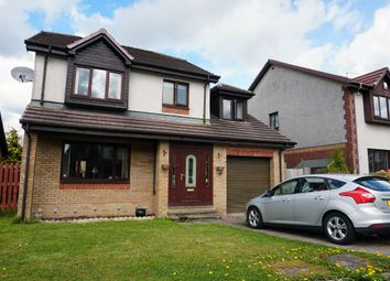 Thumbnail 4 bed detached house for sale in Rosa Burn Avenue, Lindsayfield, East Kilbride