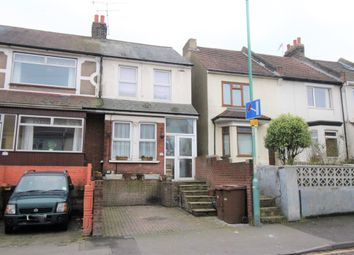 Thumbnail 4 bed end terrace house for sale in Gillingham Road, Gillingham, Kent.