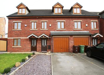 Thumbnail 3 bed town house for sale in Valley Road, Ossett