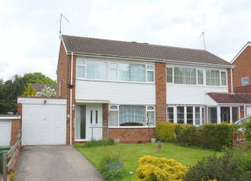 Thumbnail 3 bed semi-detached house for sale in Cheswick Close, Winyates Green, Redditch, Worcestershire