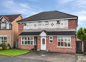 Thumbnail 4 bed detached house for sale in Greylag Crescent, Worsley, Manchester