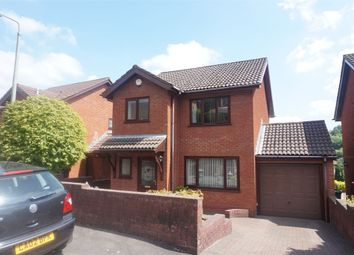 Thumbnail 3 bed detached house for sale in Beechwood Close, Newbridge, Newport