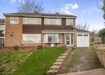 Thumbnail 3 bed semi-detached house for sale in Cranmore Road, Off Tettenhall Road, Wolverhampton