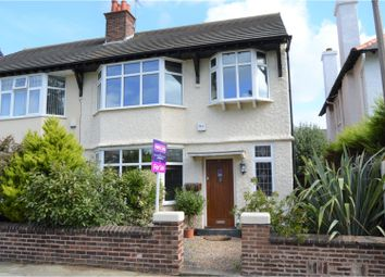 Thumbnail 3 bed semi-detached house for sale in St. Georges Park, Wallasey