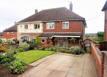Thumbnail 3 bedroom semi-detached house for sale in Winchester Avenue, Stoke-On-Trent