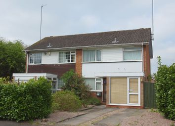 Thumbnail 3 bed semi-detached house for sale in Munsley Close, Matchborough East, Redditch, Worcestershire