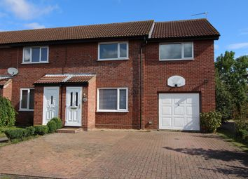 Thumbnail 3 bedroom end terrace house for sale in Gainsborough Drive, Halesworth